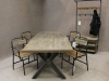 industrial tables chairs