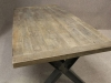 rustic retro vintage oak tables