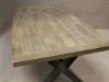 rustic retro vintage oak tables