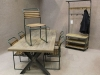 vintage dining furniture