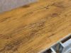 reclaimed pine shabby chic console