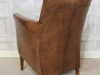 leather armchair industrial style