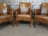 vintage style armchairs