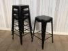 metal tolix style stools