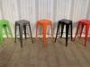 tolix stools vintage style