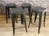 tolix style stool