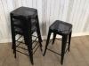 vintage tolix style stools