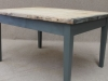 weathered board table