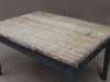 industrial weathered table