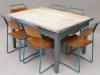 industrial retro table
