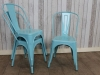 metal tolix style chairs
