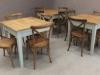 industrial restaurant table