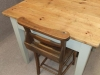 small pine cafe restaurant table