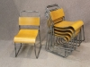 1950s style stacking chairs