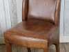 distressed leather chairs armchairs