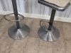 industrial height adjustable bar stool