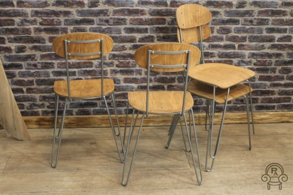 Hairpin Chair Quot The Islington Quot Vintage Industrial Retro