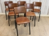 industrial style dining chairs