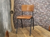 tan leather Chelmsford chair