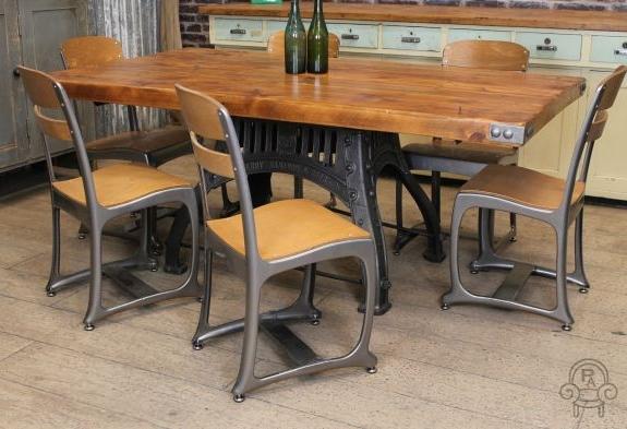 Vintage Industrial Retro Style Chair Eton Chair