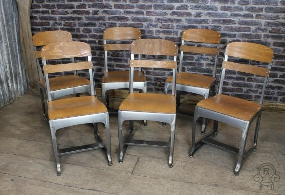 school chair gunmetal eton