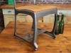 eton gunmetal dining seat