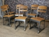 gunmetal eton chair school