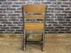 gunmetal eton school chair
