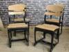 vintage style black chair