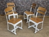 industrial style Eton chairs