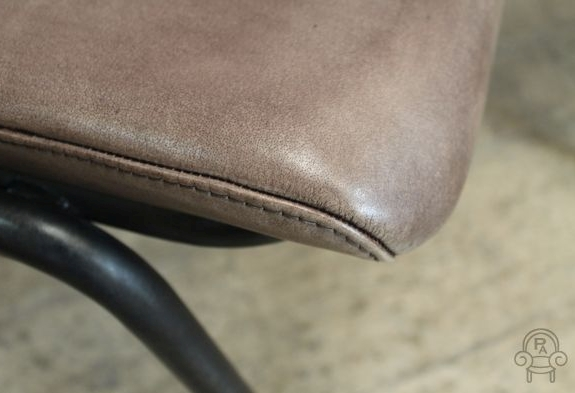 Industrial Style Leather Chair Vintage Inspired