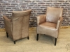 leather vintage style chair