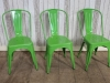tolix vintage green chair
