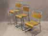 tubular stacking chair