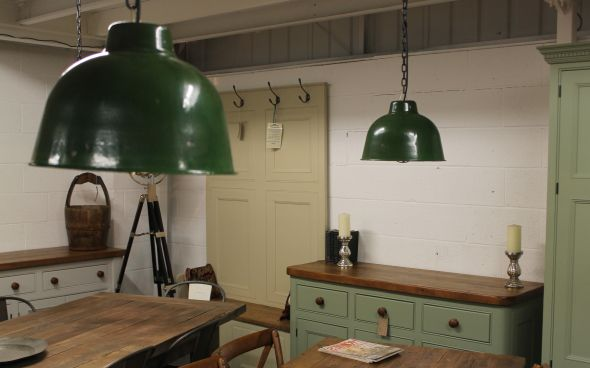 Industrial Hanging Light Pendant Light Fitting With A