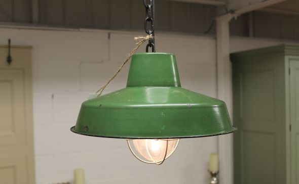 industrial style hanging light