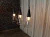 industrial style cone lights