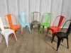 bright tolix style chairs