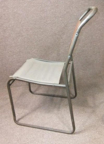 Canvas Seat Stacking Chairs