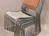 canvas tubular chair