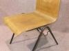 metal frame stacking chair