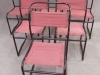 Vintage Cox stacking chairs