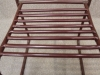slatted stacking chair