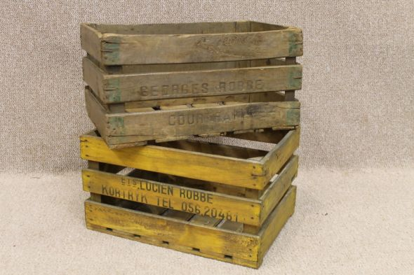 Wooden wine crates original 1950s grape crates beautiful What to do with wine crates