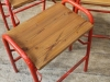 retro vintage stacking stools