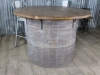 industrial vintage style table