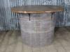 vintage pine top table