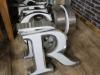 vintage capital letters