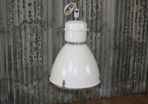 large light fitting white
