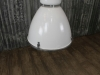 white large industrial light